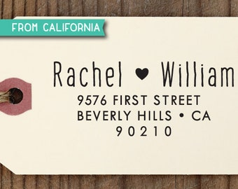CUSTOM ADDRESS STAMP with proof from usa, Eco Friendly Self-Inking stamp, rsvp address stamp, custom wedding stamp, custom address stamp 265