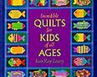 Lot 4 quilt books,  Incredible Quilts for Kids, Patchwork Persuasion, Cottage Quilts, Strip Quilts in a Hurry