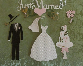 Scrapbooking,Die Cuts Handemade cards embelishments