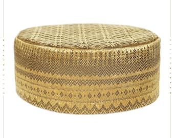 Wedding hat. Bucharian style kippah yarmulke.
