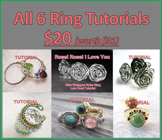 6 Ring Tutorials Package at Wirebliss $20