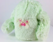 Mini Mad Eyed Monster Plush Key Chain