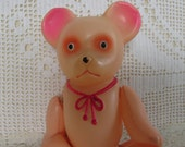 Vintage Celluloid Teddy bear, made in Occupied Japan, collectible, teddy bear collector, toy collector, vintage composition celuloid toy