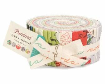 SALE Jelly Roll Strips - PUREBRED Moda Fabrics by Erin Michael