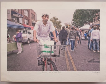 Cheap Shots: Delivery Guy at Street Fair