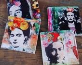 Frida Fiesta - coasters