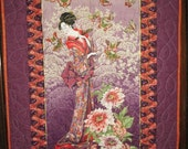 Oriental Lady Wall Hanging
