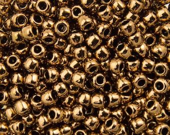 """Bronze Toho Seed Bead 11/0 2.5"""" Tube TR-11-221/C"""