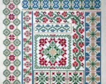 Cross Stitch Pattern, My Secret Garden Counted Cross Stitch Pattern, by AuryTM, WI