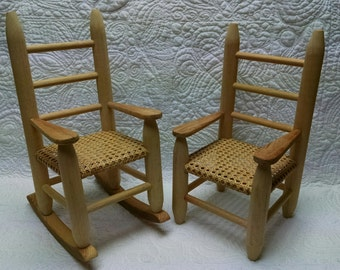 Miniature Cane Chairs
