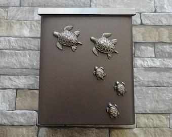 Sea Turtle Mailbox in Oil Rubbed Bronze