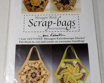 Zippered Purse pattern uncut Scrap Bag