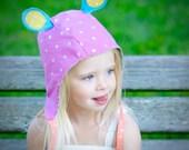 wildThings caps ear flap avaitor bombardier animal cap costume hat bonnet OOAK baby/kid size 14m-12y in pixie (by UB2)