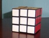 Vintage 1980's Rubic's Cube Original Label