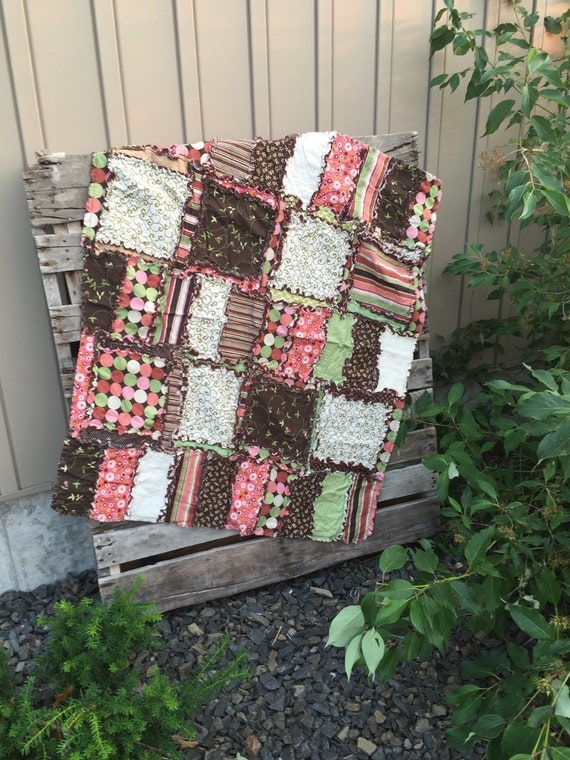 Girl Toddler Rag Quilt