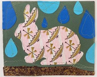 Bunny In The Rain