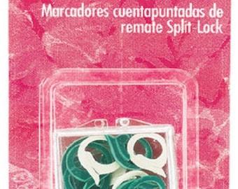 Susan Bates - Split-lock Stitch Count Markers - 15 per package fnt