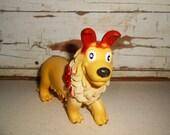 Vintage Rubber Toy, Rubber Dog Toy, Ja-Ru Dog Toy