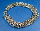 Stainless Steel GSG Weave Chainmaille Bracelet