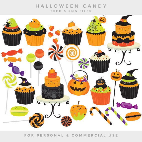 Halloween candy clip art - sweets clipart cupcakes cake cakes ...