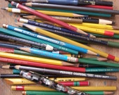 Vintage - Great Group of OLD Artists Pencils, ETC