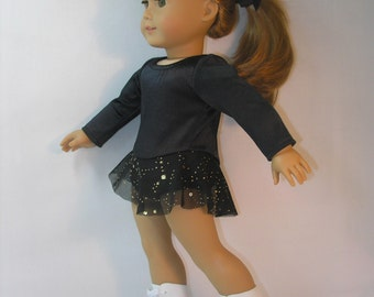 2058 - 18 Inch Doll Clothes Ice Skating Dress fits American Girl