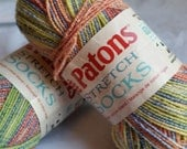 Patons Sock Yarn Destash Supply Crochet Knitting Supplies Fruit Slices Color