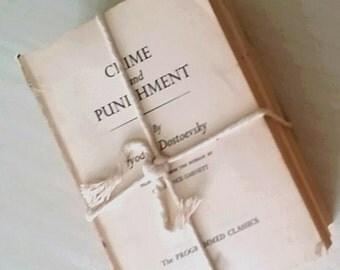 decorative vintage bundle of three books