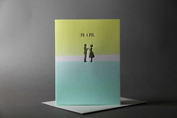 "Dip Dye ""Mr. and Mrs."""