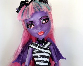 Misty the Dragon OOAK Monster High Doll Repaint