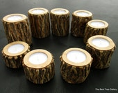 9th Anniversary Gift of 9 Willow Candles Can Be Customized