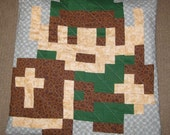 Link Quilted Pillow Cover - free shipping