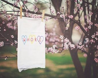 Whoooooore Towels for Awesome Girls