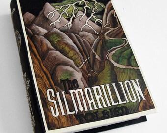 Secret safe box, hollow book - The Silmarillion - hideaway book box- hidden compartment.
