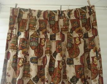 Vintage Olde Americana curtains