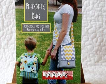 Clearance! *** Playdate Messenger Bag Pattern by Fishsticks Designs
