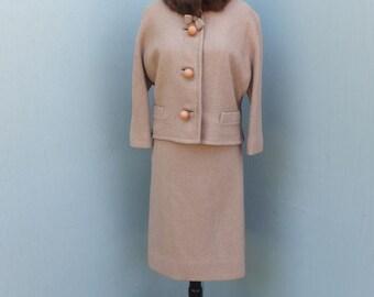 Vintage 1950s/60s Classic  Two Pc. Suit / A Kennie Original / Plus Size