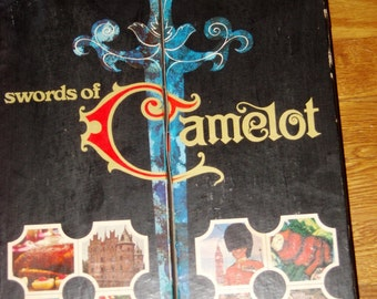 SWORDS of CAMELOT SET, Knife & Carving Set, Cutlery Set