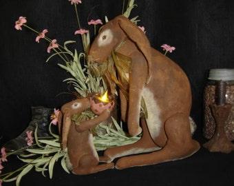 Mother's Gift Rabbit Family