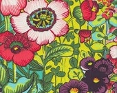 Alexander Henry Folklorico Flores de Coyoacan in Chartreuse - Half Yard