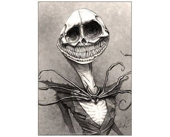 Jack Skellington Scary Stories To Tell In The By