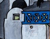 Original Painting: Santorini, Greece