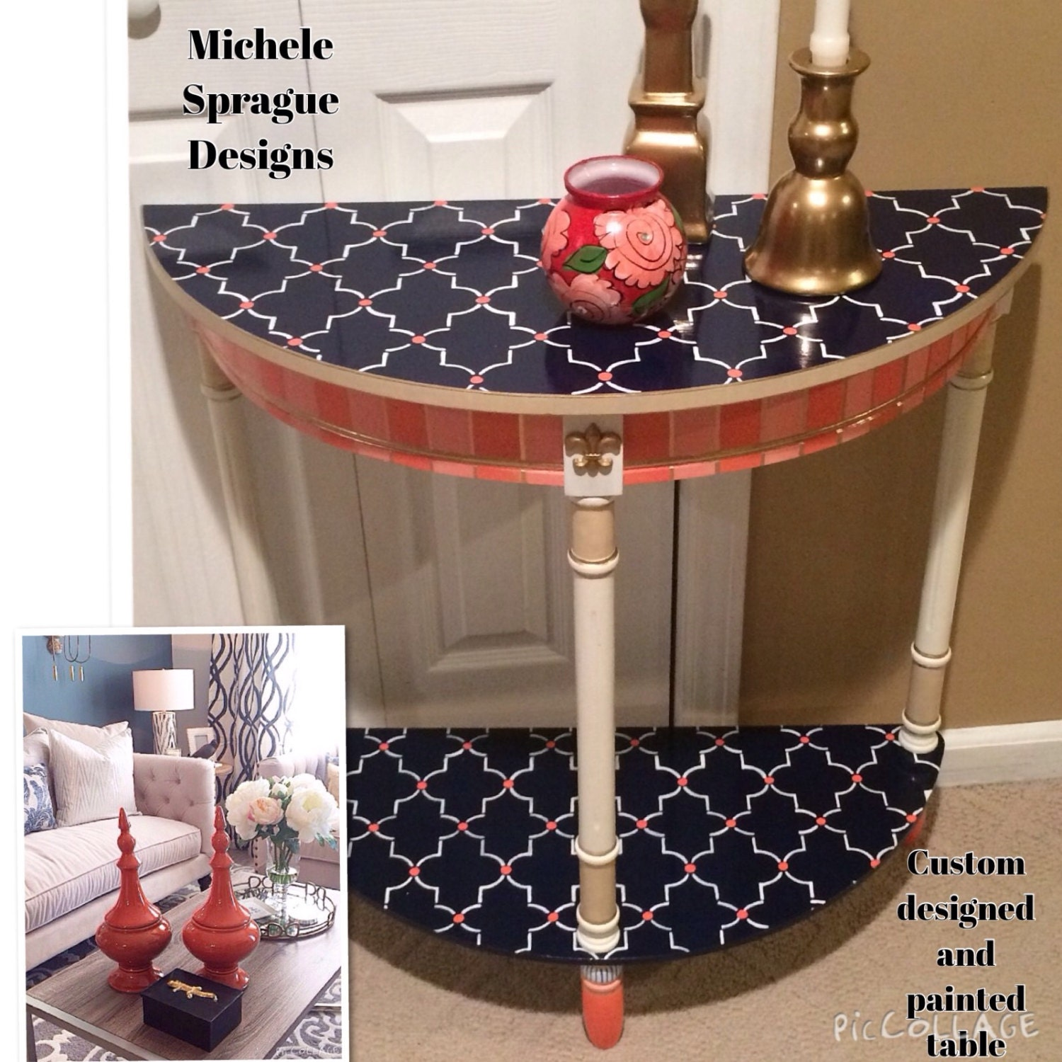 Page Furniture: Whimsical Painted Furniture Whimsical Painted Table