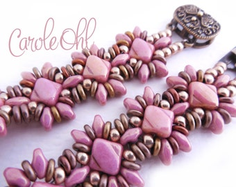 Oh Silkies! Bracelet Kit - Pink Luster by Carole Ohl
