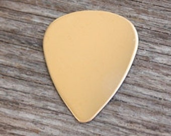 Rose Gold Fill Guitar Pick 20g