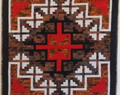 Red Cross 2 Art Quilt
