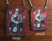Cowboy Skeleton necklace-2 sizes available!