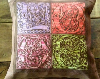 Celtic LOVE Needlepoint Pillow