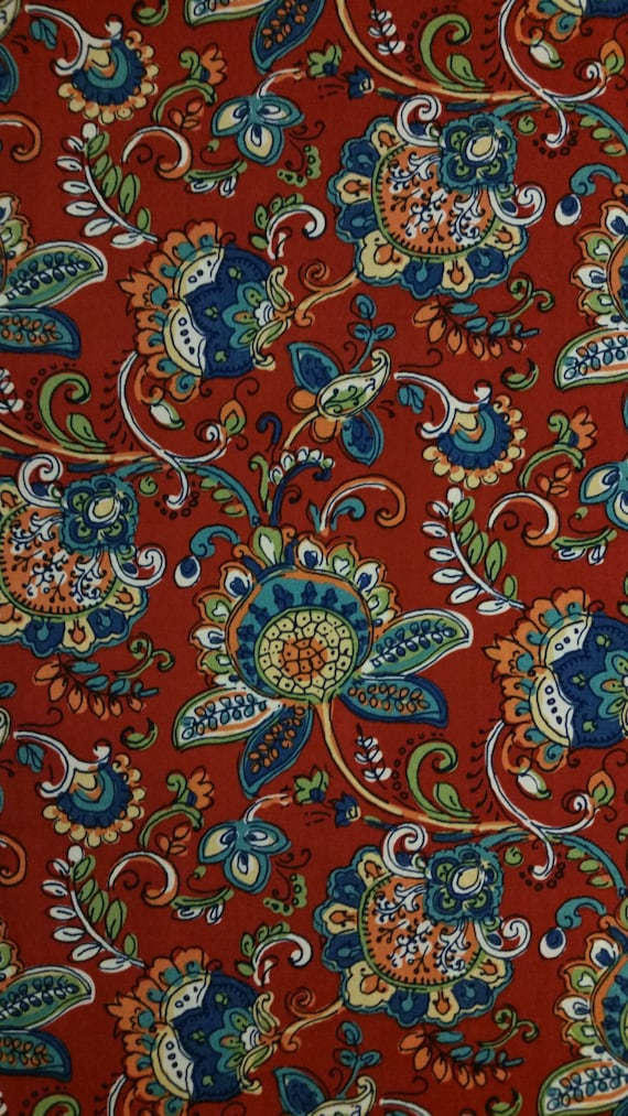 Home Decor Fabric Jodi Fiesta By The Yard Cottage Outdoor