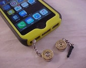 Cell Phone Bullet Charm Dust Plug - Free Shipping to USA